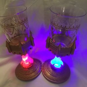 Disney light up cups from be our guest